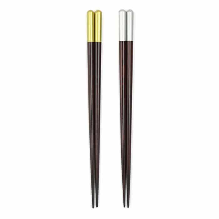 handmade-bamboo-chopsticks-set-gold-&-silver-1