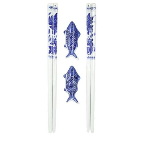 chinese-porcelain-fish-chopsticks-w-rests-1