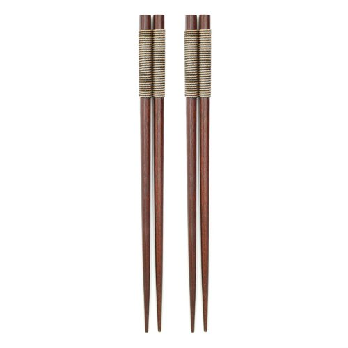 handmade-japanese-chestnut-chopsticks-w-stripped-wrap-1