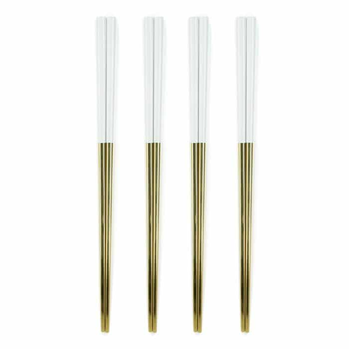 white-&-gold-luxury-titanium-chopstick-set-1