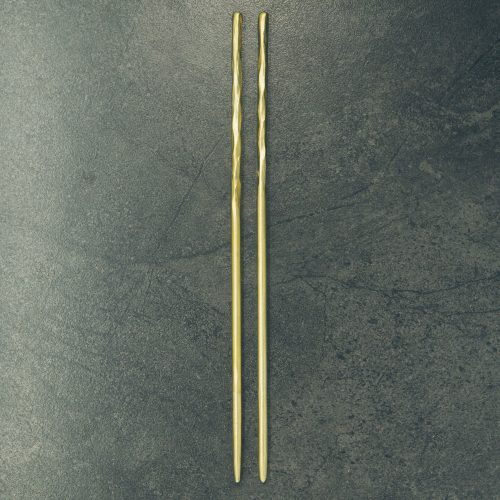 hand-forged-hammered-brass-chopsticks-1