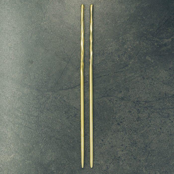 hand-forged-hammered-brass-chopsticks-1