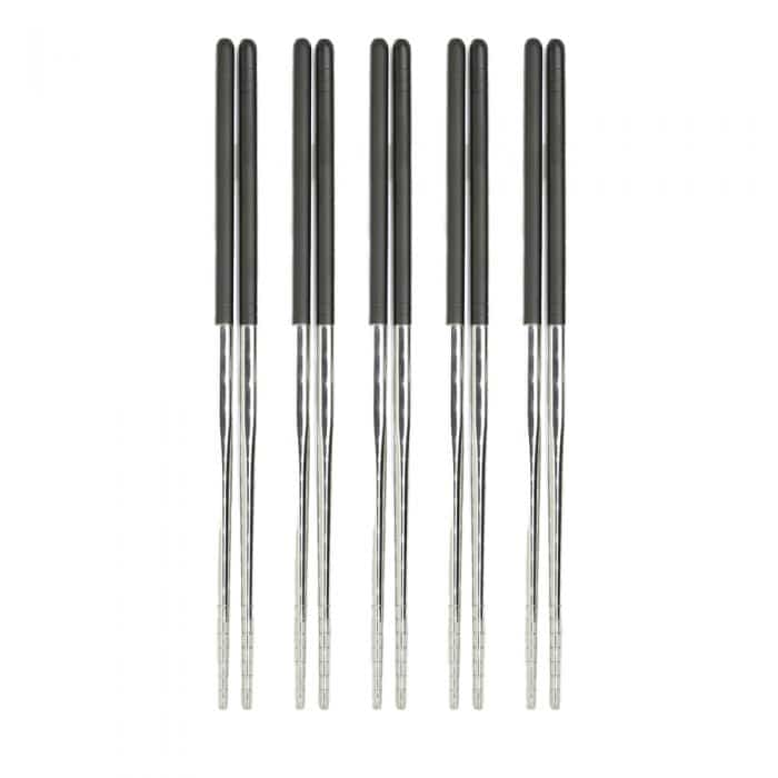 two-toned-black-stainless-steel-chopstick-set-1