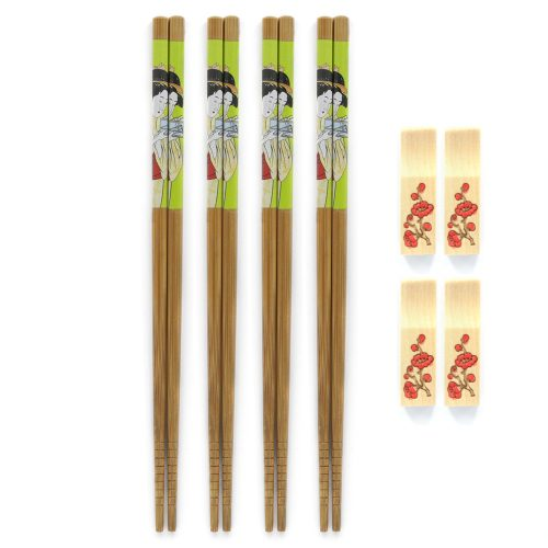 premium-green-japanese-chopstick-set-w/-rests-1